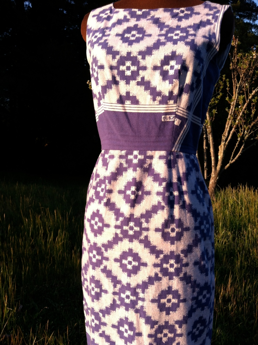 The Tribal Dress. Size 6. SOLD.