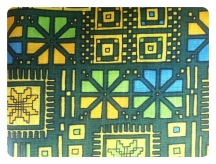 Circuit board. I've held onto this vintage fabric for awhile, waiting for the perfect way to use it. Well, I think I now know - fitted bodice, flared mini skirt. Yes, I'm kinda excited about this one friends.