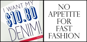 No Appetite for Fast Fashion